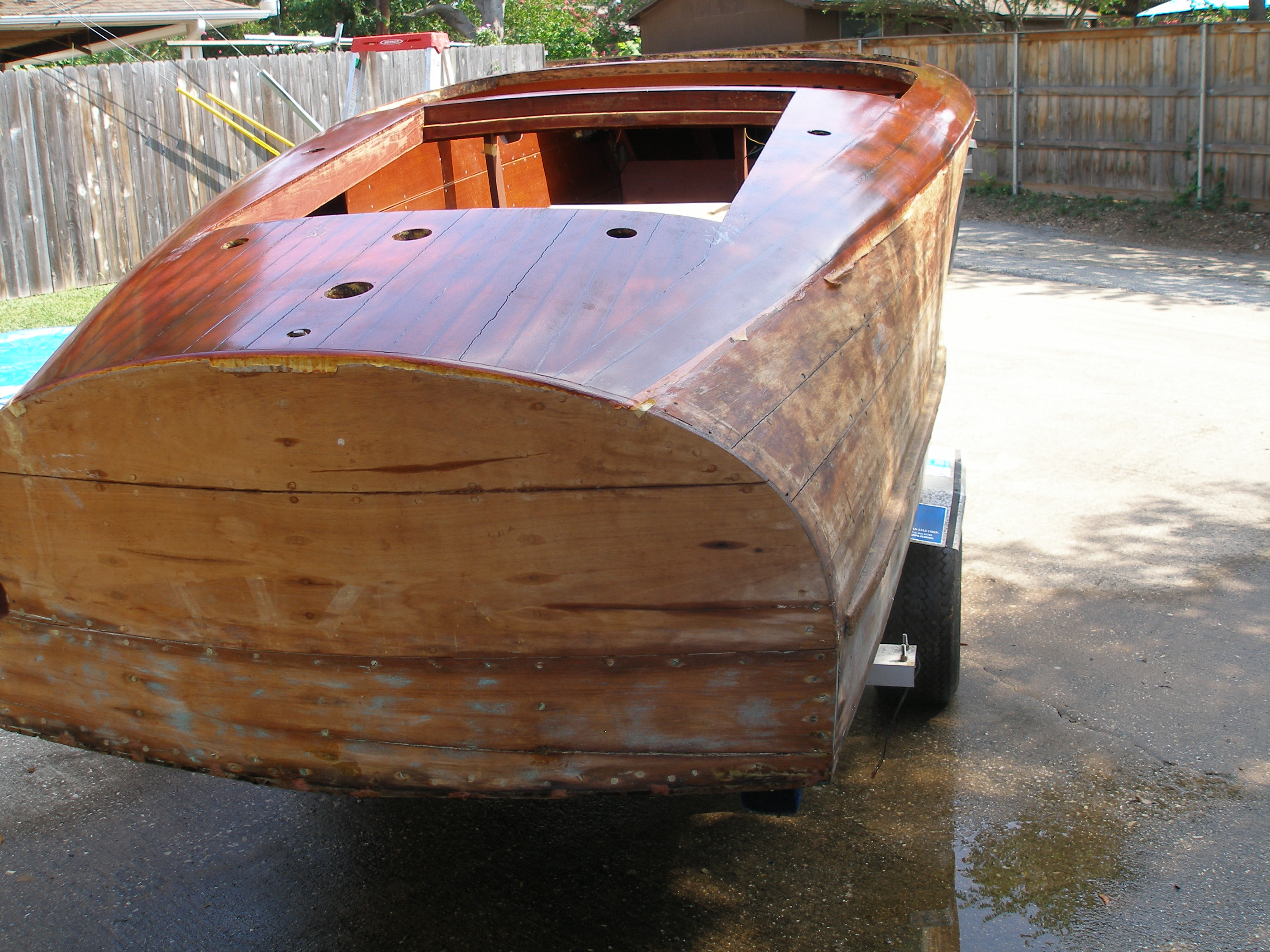 1940 Chris Craft Barrel Back